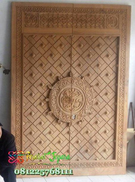 Pintu Masjid Nabawi Kayu Jati